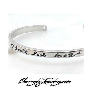 Don't Look Back Bracelet